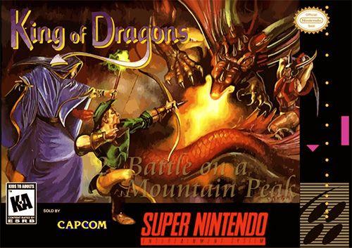 Play King Of Dragons Online Free Snes Super Nintendo