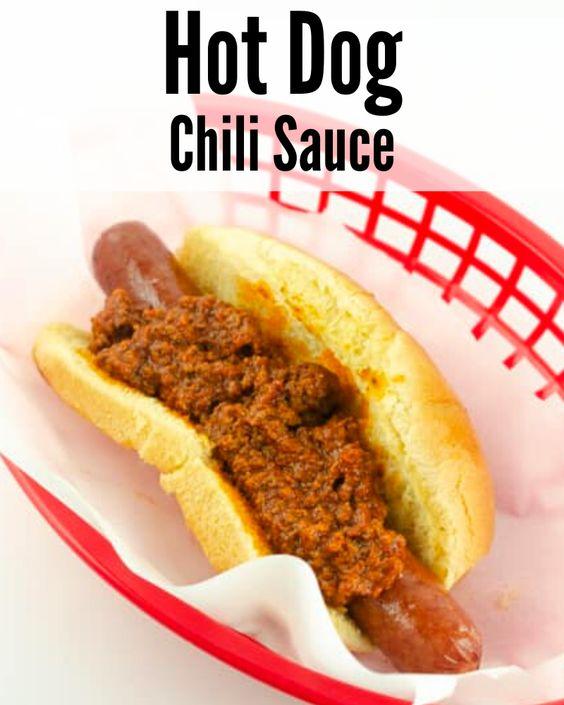 Carolina Hot Dog Chili