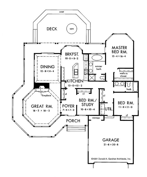 One Story Floor Plans One Story Victorian Ideas for the House