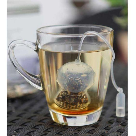 Cool.... uhmm hot ;)  Tea diver (by Abel Partners Design Studio's).