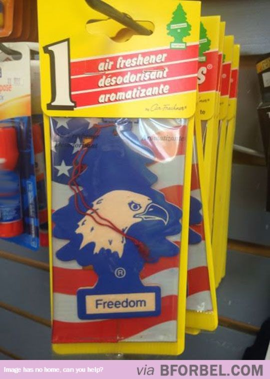 The Smell Of Freedom… Literally…