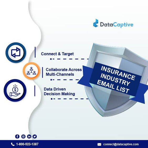 Insurance Industry Email List Insurance Industry Email List
