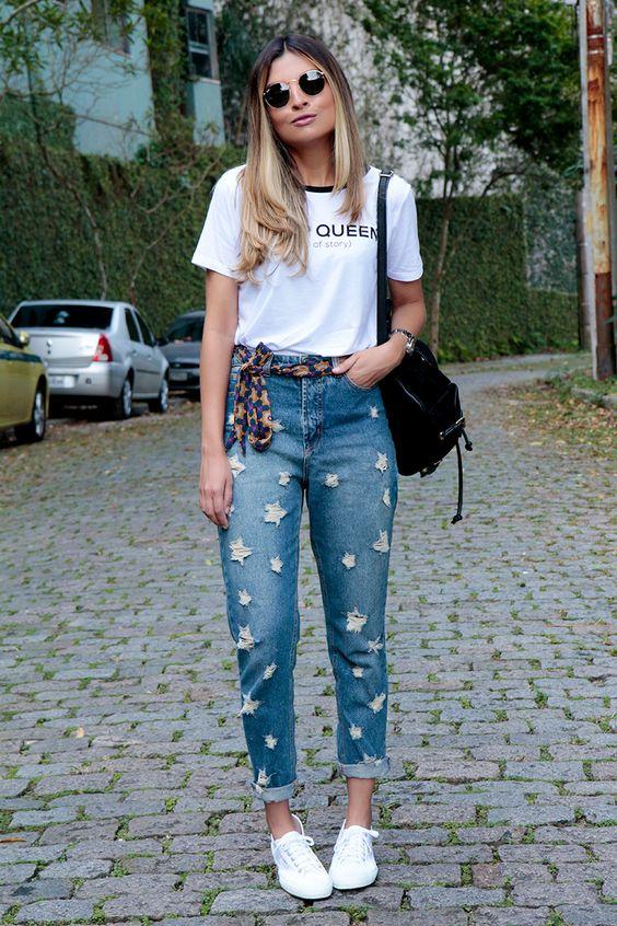Jessica_Velasco_look_do_dia_jeans_lenço_glam_style