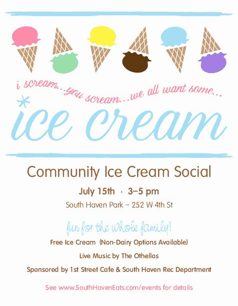 Free Ice Cream Social Flyer Template New Ice Cream Social Flyer Ice Cream Social Flyer Template Flyer