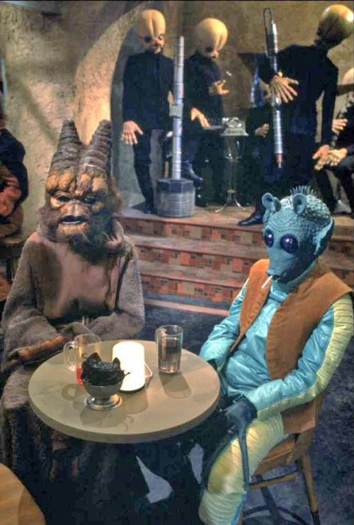 "Star Wars. Although it's a perfectly good word, nobody thinks of anything else when they hear the word ""cantina""."