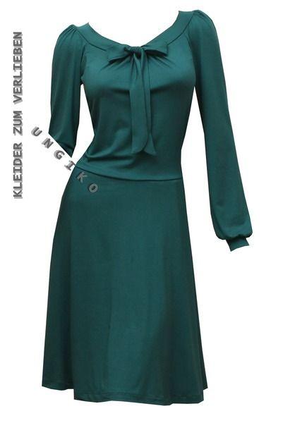 Farb- und Stilberatung mit www.farben-reich.com - Kleid Emilia - viele Farben  von ungiko auf DaWanda.com