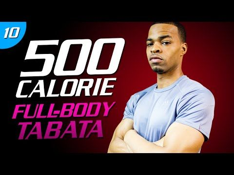 35 Min. Body Torching Tabata | 500 Calorie HIIT MAX Day 10 - YouTube