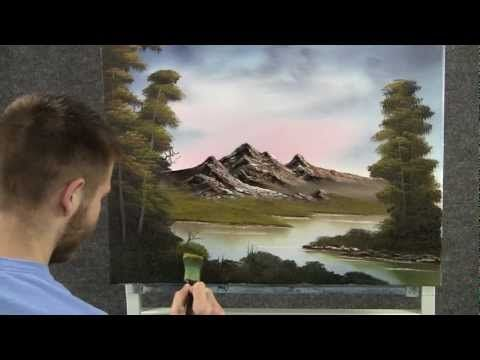 Paint with Kevin Hill - Quiet Mountain View