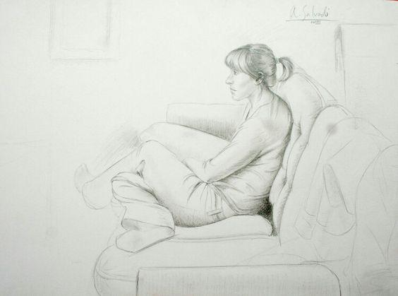 """Dibuix draw """"Elisenda"""""""
