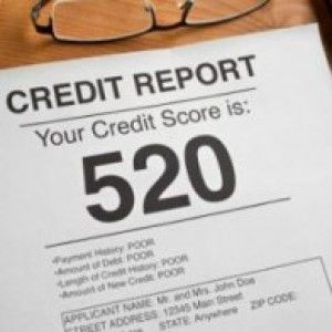 credit card history score