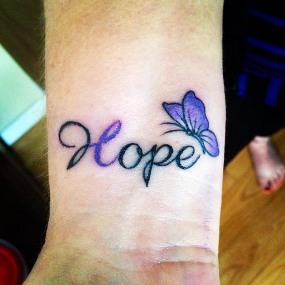 A friends mom just had this tattoo done in support of her daughter that has Epilepsy. So beautiful and what a great way to show support and awareness.