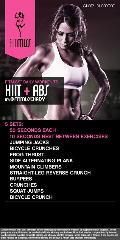 FitMiss HIIT  Abs Workout powered by Delight! #FitMiss  Find out more at www.facebook.com/iamfitmiss  www.twitter.com/iamfitmiss:
