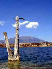 Laguna azul en Galeana Nuevo Leon Mexico ...