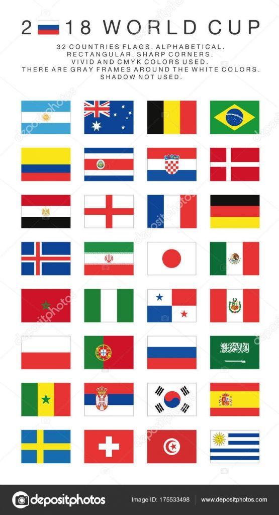 Paises Participantes Da Copa 2018 Pesquisa Google Bandeiras