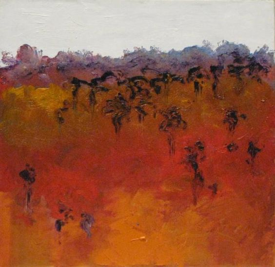 Red Centre 9  by Pat Skenridge