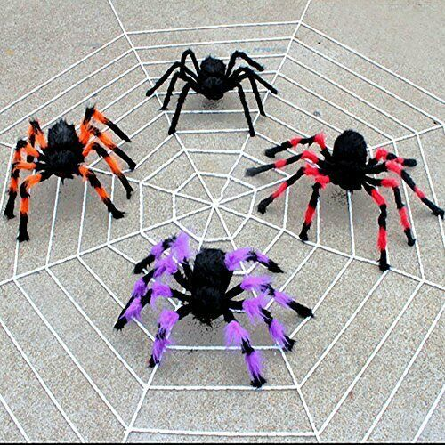 Kechio 12 Ft Halloween Giant Spider Web Halloween Outdoor Decorations Super Stre Ad Sp With Images Halloween Outdoor Decorations Outdoor Halloween Halloween Spider Web