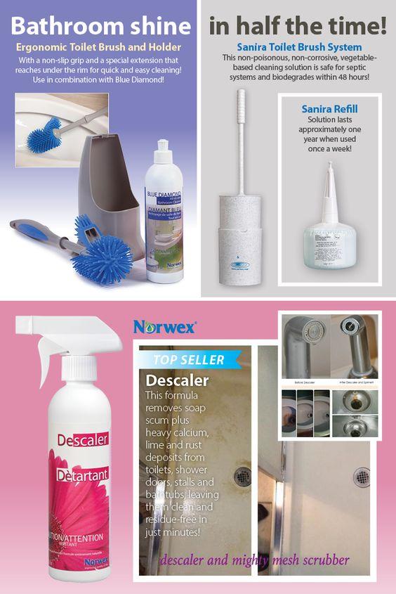 Bathroom products for a bathroom shine in half the time norwex pinterest - Make bathroom shine ...