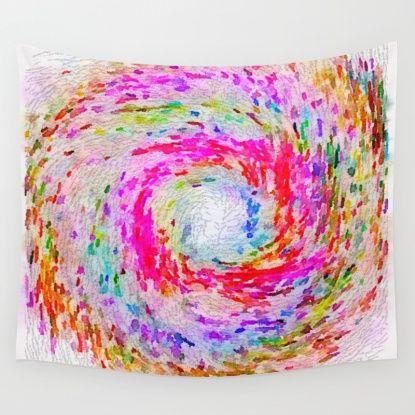 Swirls Wall Tapestry