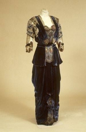 1910-1915 dress and jacket by G. Giuseffi L.T. Company, American