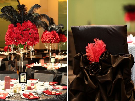 las vegas wedding 3 las vegas theme pinterest feathers wedding