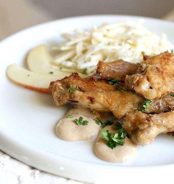Ali di pollo al burro di arachidi   http://www.ilpastonudo.it/carne/ali-di-pollo-al-burro-di-arachidi/