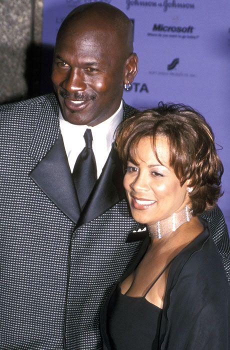 Michael Jordan and Juanita Jordan...
