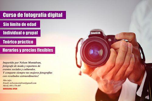 Curso de Fotografía digital impartido por Nelson Montalvan