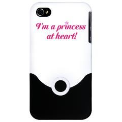Simple with a touch of glam! I'm a Princess at Heart! iPhone Case > Kissyface Art