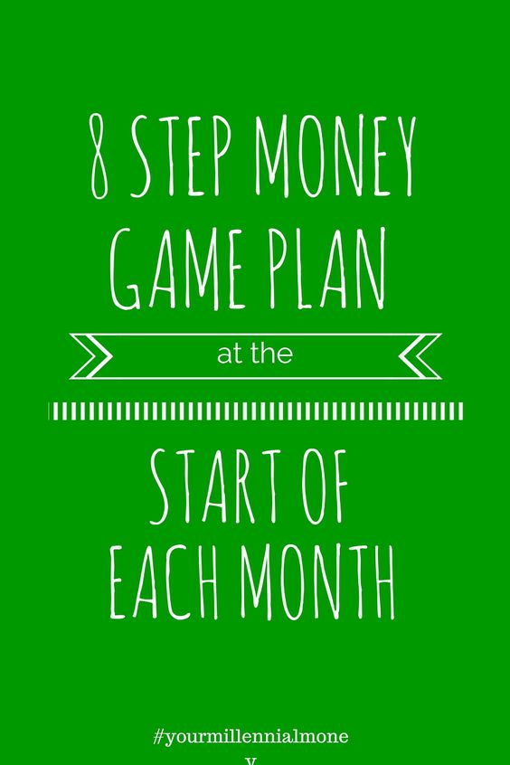 8 Step Money Game Plan