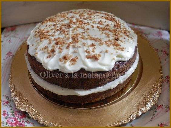 Oliver a la malagueña: CARROT CAKE