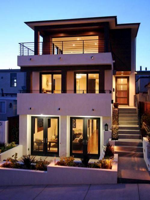 Restablecer Tu Fachada Disenos Modernos Y Elegantes Arquitectura Arquitectura Fachada Modernas C Modern House Facades Facade House Modern House Exterior