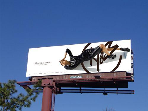 3d billboard advertising