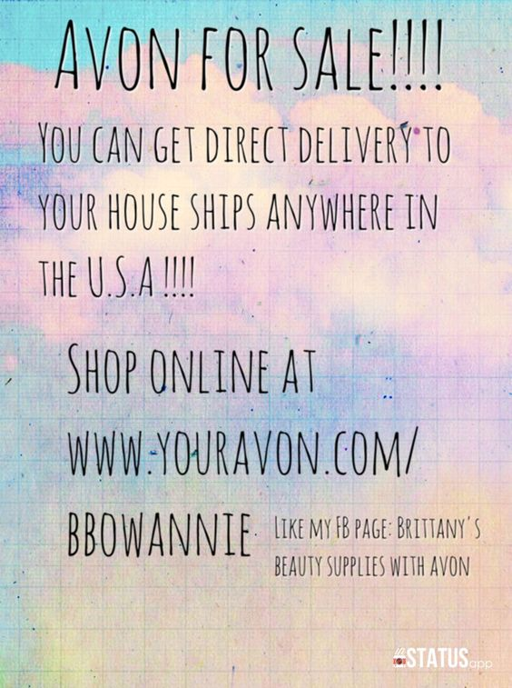 Order today www.youravon.com/bbowannie or check out my Facebook page and order there shipping to any where in th US  https://m.facebook.com/Britt.avonsales