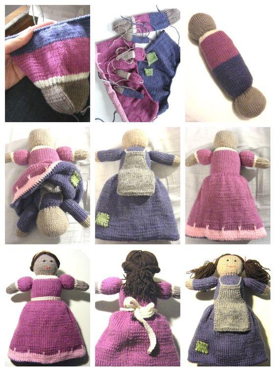 Knitting Pattern For Upside Down Doll : Pinterest   The world s catalog of ideas