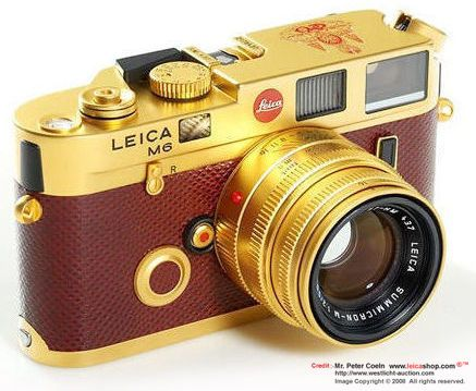 Leica M6 His Majesty King Bhumibol Adulyadej of Thailand 50th Anniversary of His Coronation   GOLD Edition with matching Gold-plated Summicron-M 1:2.0/50mm, 1996 - Part III