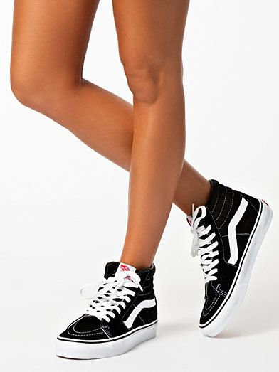 Vans High Tops Black Womens