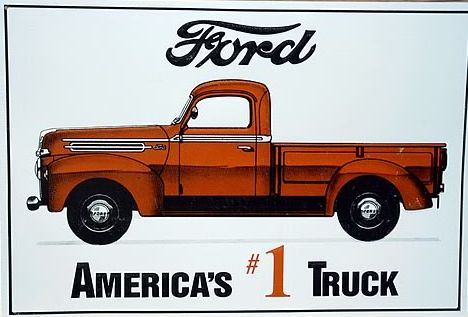 Ford has always been on top of the truck game! #TBT