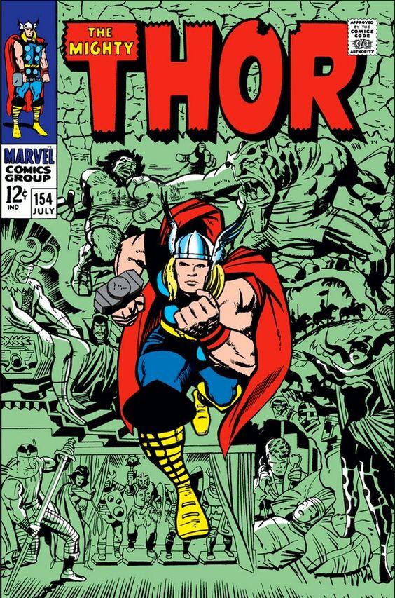 THOR #154 •Jack Kirby