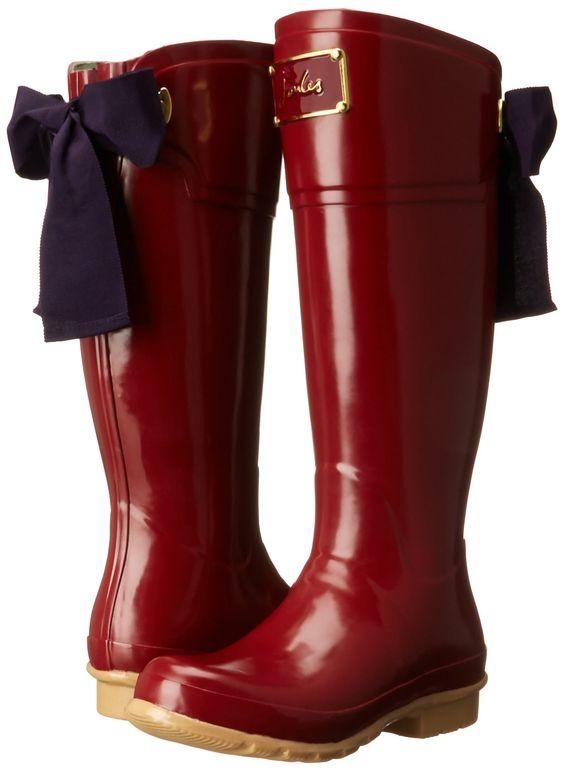 Rain boots, Rain and Bows on Pinterest
