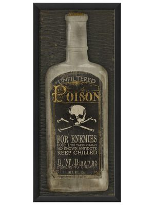 Kind of amazing. :)  Poison by Artwork Enclosed