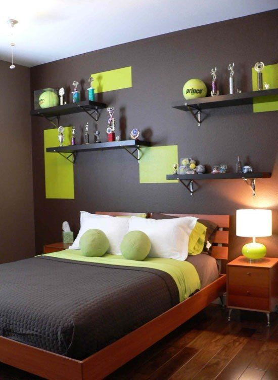 Sports Theme Tennis Cool Bedroom Ideas For Boys Cool Boys Room Modern Bedroom Interior Boy Room Paint