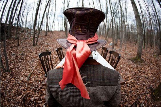 Alice in Wonderland - marriage photos