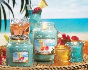 Scents (I always keep a candle burning in the house!):