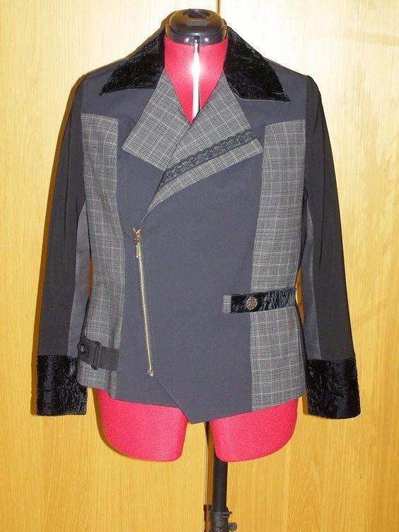 Couture et démesure Blog: Création d'une veste en taille 46