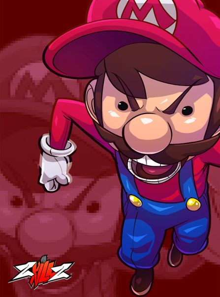 ZkillZ Super Mario by ZEO