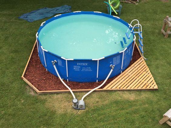 intex pool verkleiden u round above ground pool half inground with intex pool verkleiden top x. Black Bedroom Furniture Sets. Home Design Ideas