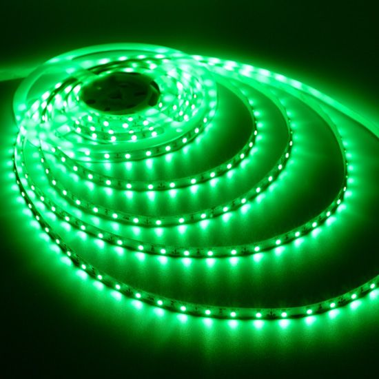 Green Flexible Led Strip Light 12volt Led Tape Light 3528 Non Waterproof Light Strips 60leds M Led Light Strips Green Led Lights Strip Lighting