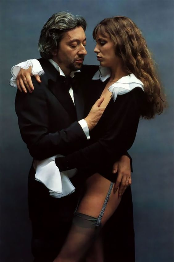 Ð¡ontroversial Portrait Photos Of Jane Birkin And Serge Gainsbourg In The 1970s