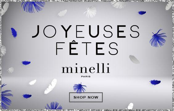 MINELLI PARIS - JOYEUSES FÊTES - SHOP NOW