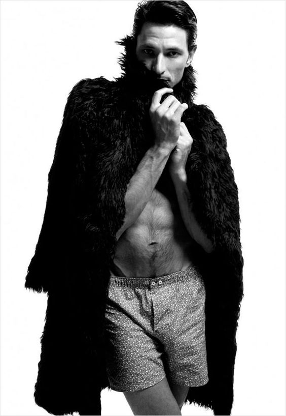 Andrés Velencoso photographed by Xevi Muntané and styled by Ana Murillas for the Fall/ Winter 2012-13 issue of Candy Magazine.: Fashion Men, Fashion Photo Male, Male Fashion Editorials, Men And Furs, Fashion Photography, Andres Velencoso, Men Furs, Male Models